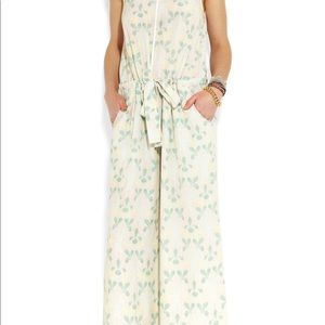 GIRL. BAND OF OUTSIDERS Washed Silk Jumpsuit